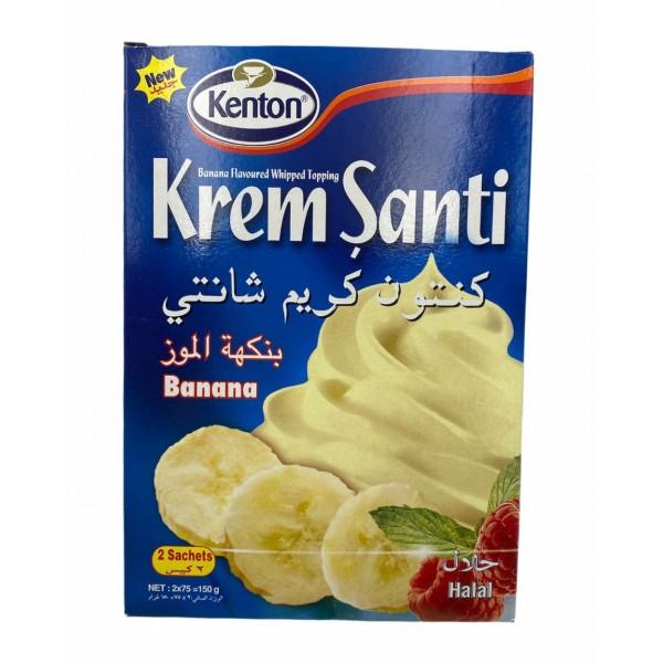 Kenton Banana Flavored Whipped Cream 150gr