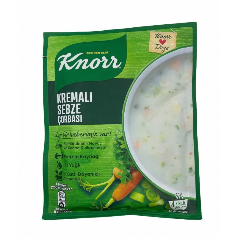 Knorr Vegetable Soup With Cream 65g