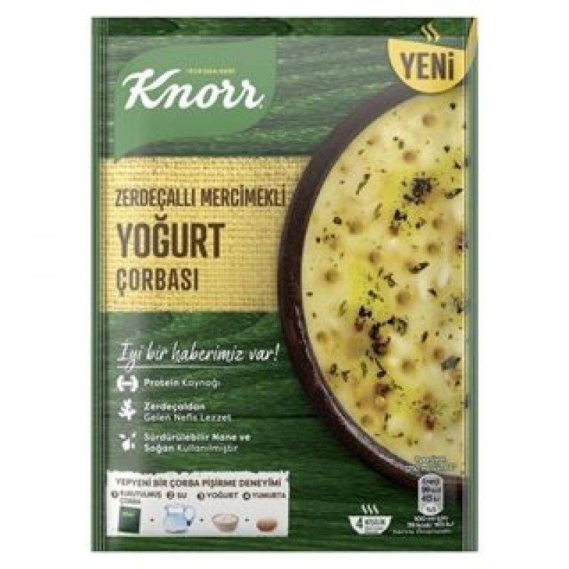 Knorr Yogurt Soup With Turmeric And Lentils 98g