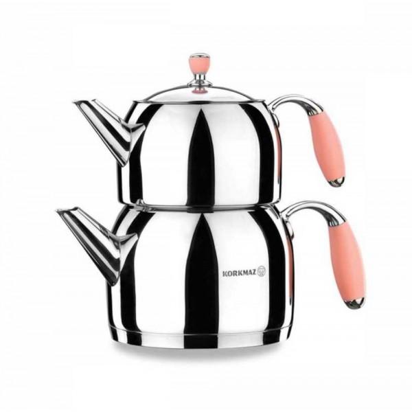 Korkmaz Flora Tea Pot Set