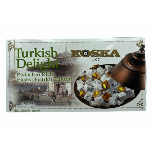 Koska Turkish Delight Pistachio Rich 500g