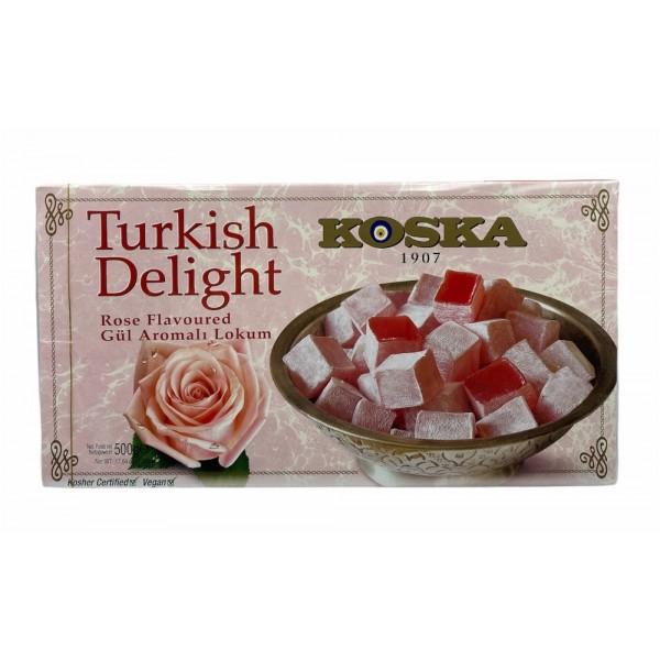 Koska Turkish Delight Rose Flavoured 500g