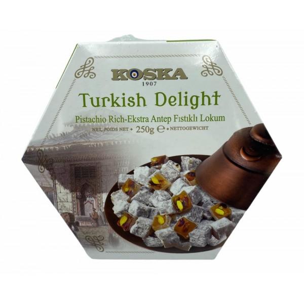 Koska Turkish Delight Extra Pistachio 250g