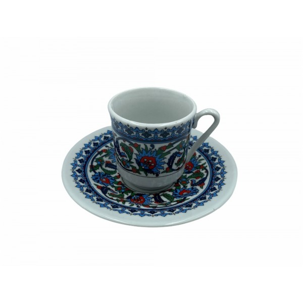 Kutahya Porselen Turkish Coffee Cup Set