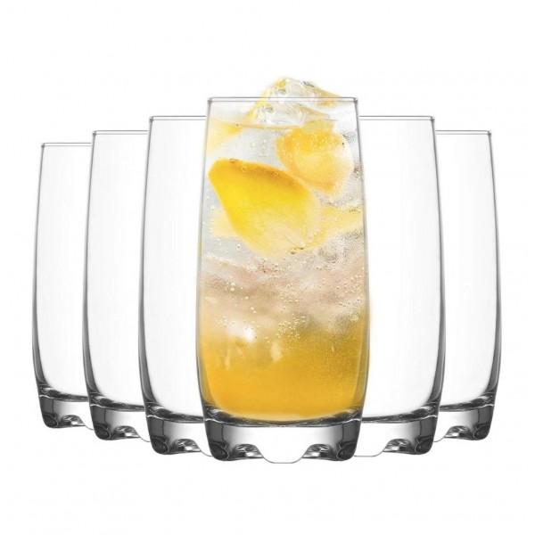 LAV Adora Highball Glasses - 6x