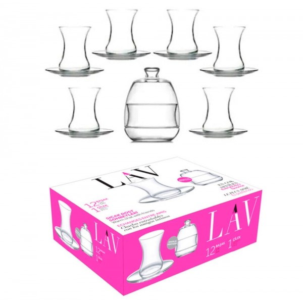 Lav Basak Tea Set 12pcs