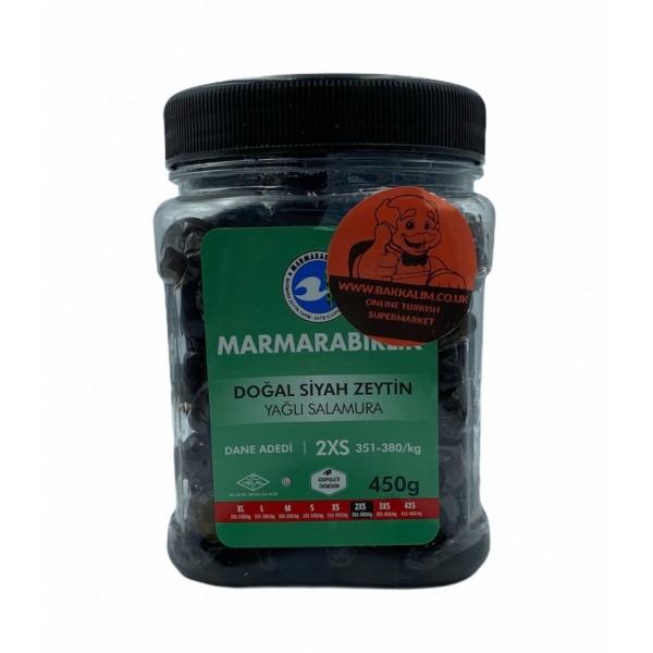 Marmarabirlik Natural Black Olive Oil Brine 450g
