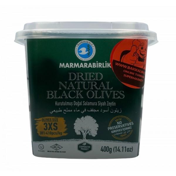 Marmarabirlik Dried Natural Olives 3xs 400g