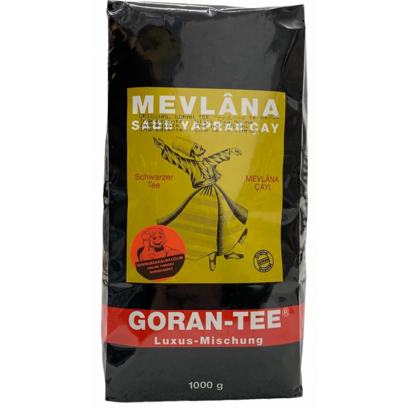 Mevlana Goran Tea Ceylon Pure Leaf Tea 1kg