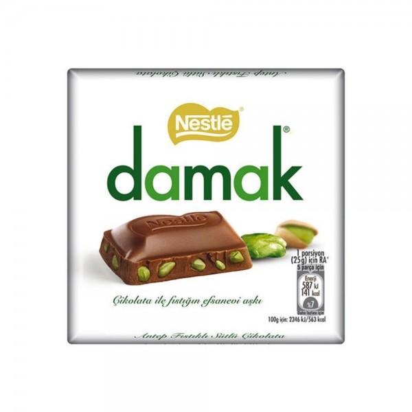 Nestle Damak Chocolate With Pistachio 63g