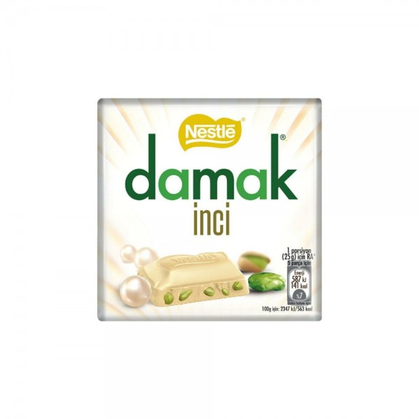 Nestle Damak Inci White Chocolate Wist Pistachio 63g