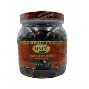 Oncu 2XS Natural Black Olives 1000g