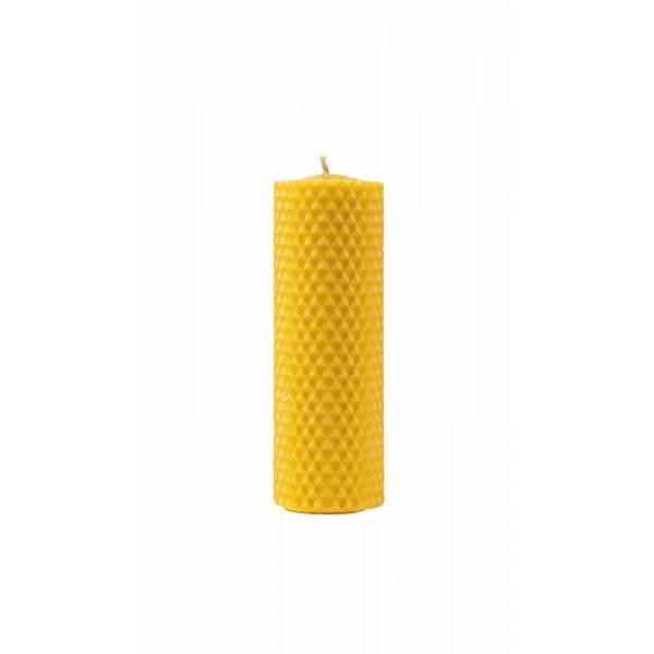 Organic Honey Candle 10cm