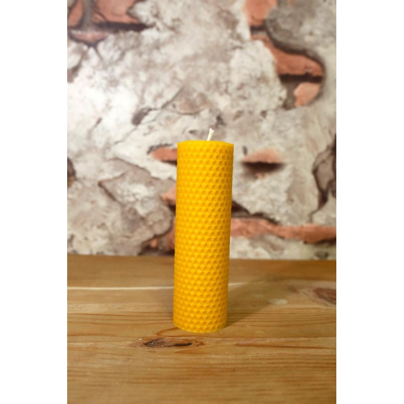 Organic Honey Candle 15cm