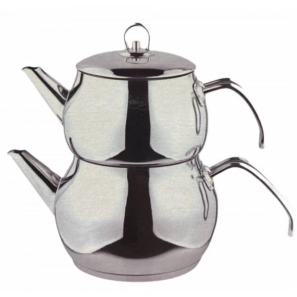 Ossa Medium Turkish Tea Pot With Metal Handle