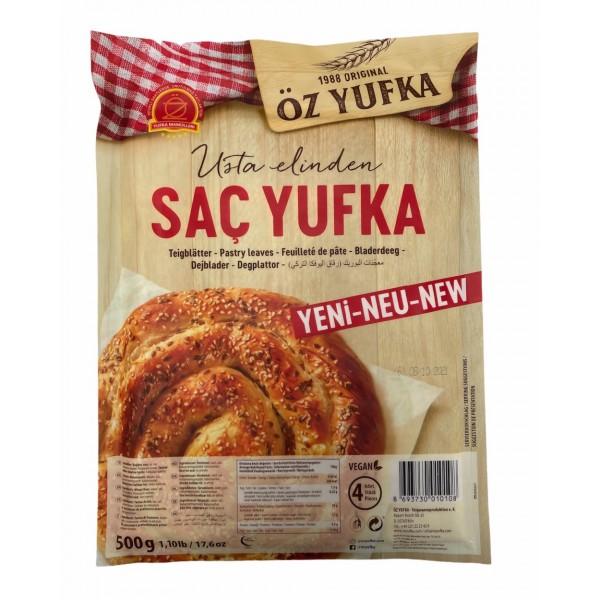 Oz Yufka Flat Type Fillo Pastry 4pcs 500g 18oz