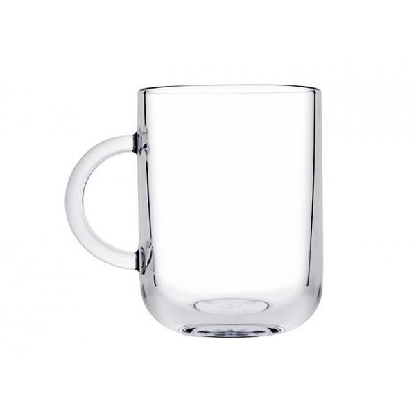 Pasabahce Iconic Handled Cup 2pcs Korona Virus Antiproof