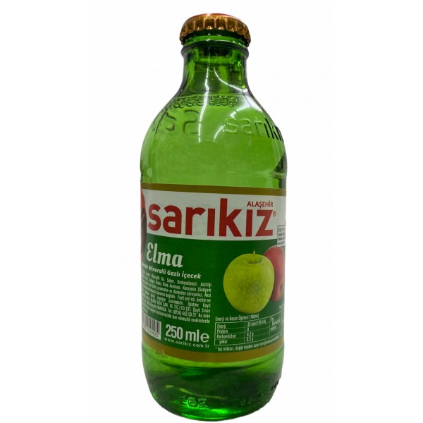 Sarikiz Apple Flavored Spring Water  200ml