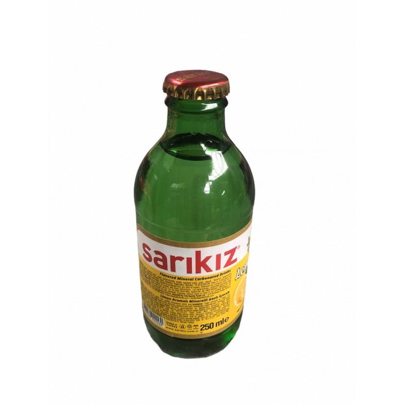 Sarikiz Lemon Flavored Mineral Carbonated Drinks 250ml