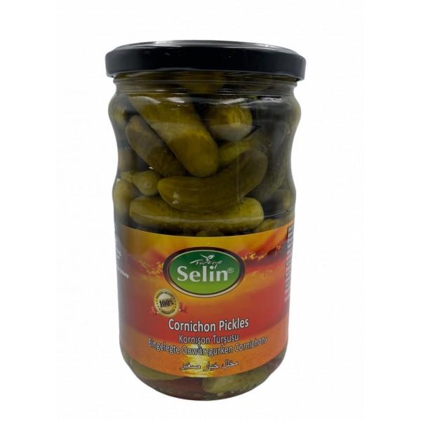 Selin Cornichon Pickles 580g
