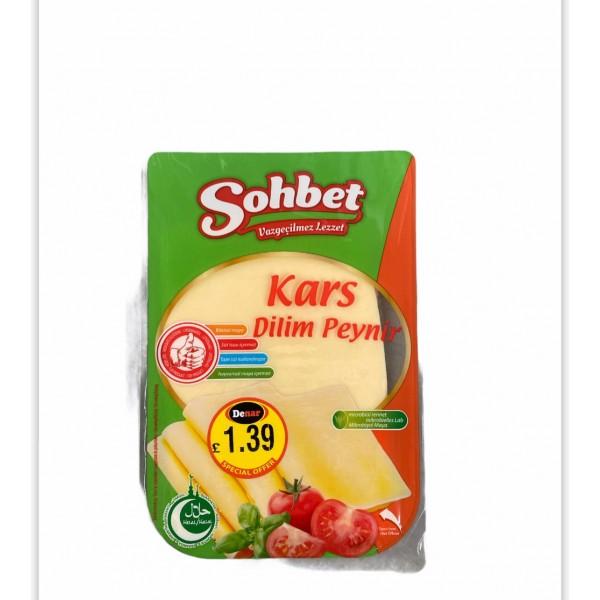 Sohbet Kars Sliced Cheddar Cheese 150g