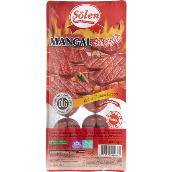 Solen Mangal Keyfi Sausage 1000g