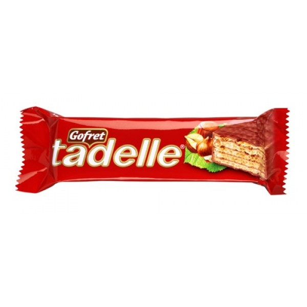 Tadelle Hazelnut Flavoured Chocolate Wafer