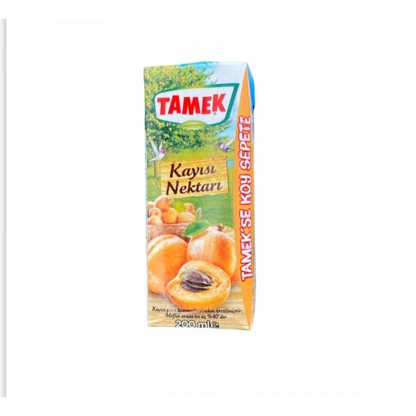 Tamek Apricot Fruit Juice 200ml