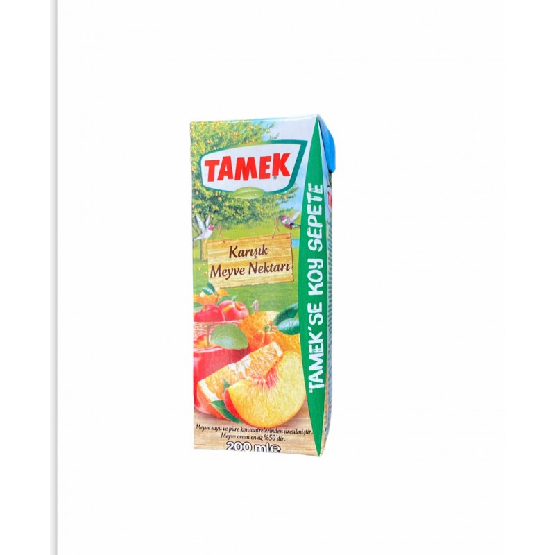 Tamek Mix Fruit Juice 200ml