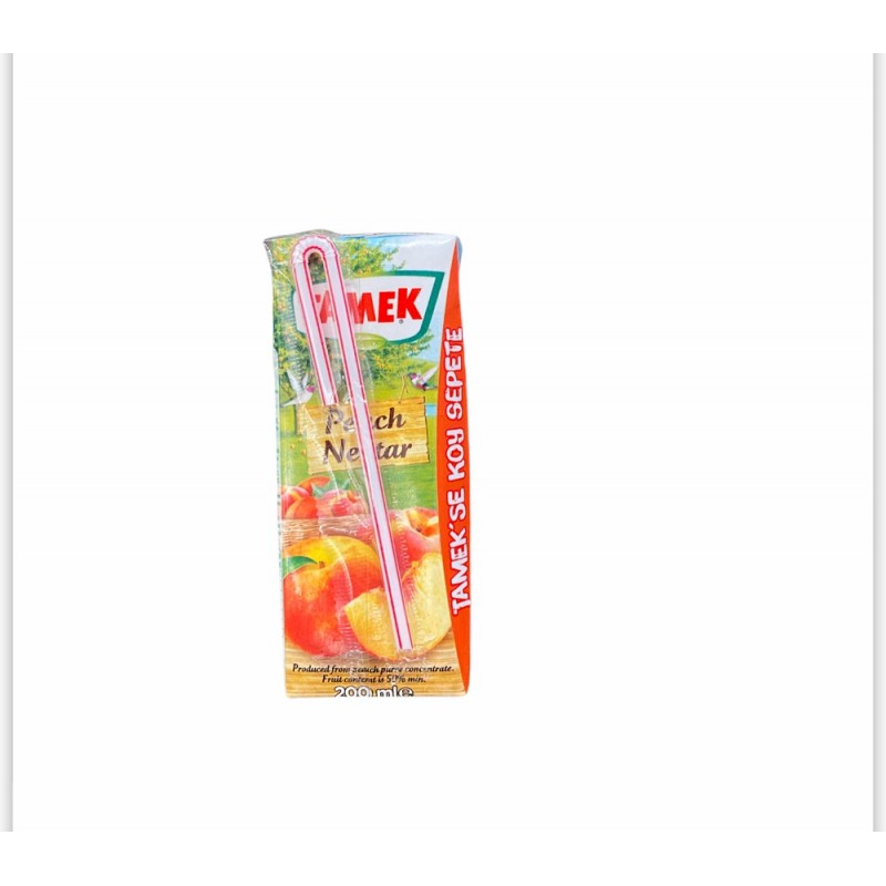 Tamek Peach Fruit Juice 200ml
