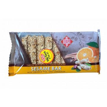 Tempo Sesame Bar With Orange Peel And Connamon 50g