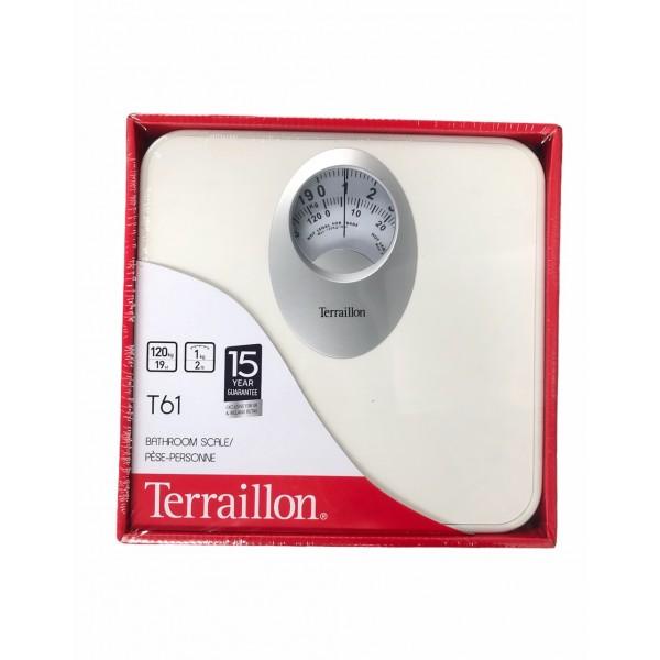 Terraillon Bathroom Scale T61 Max120kg