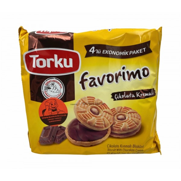 Torku Biscuit With Chocolate Cream 244g