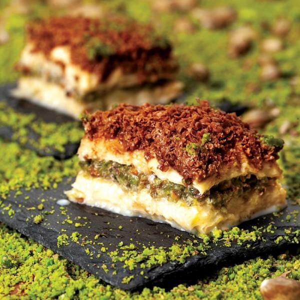 Traditional Turkish Cold Pistachio Baklava 650gr