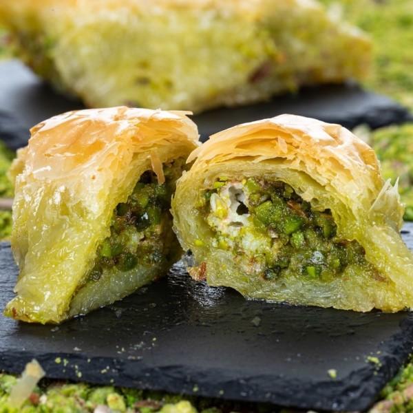Traditional Turkish Sobiyet Pistachio Baklava 500gr