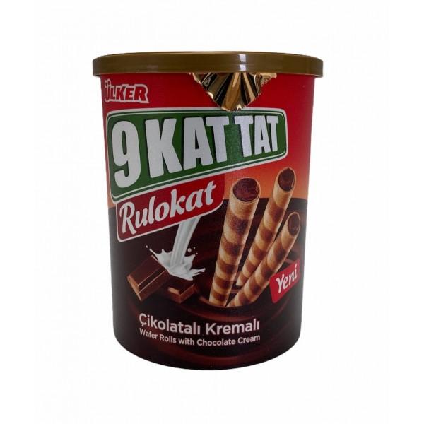 Ulker 9 Kat Tat Wafer Rolls With Chocolate Cream 170g