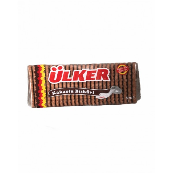 Ulker Biscuits With Cocoa 175g