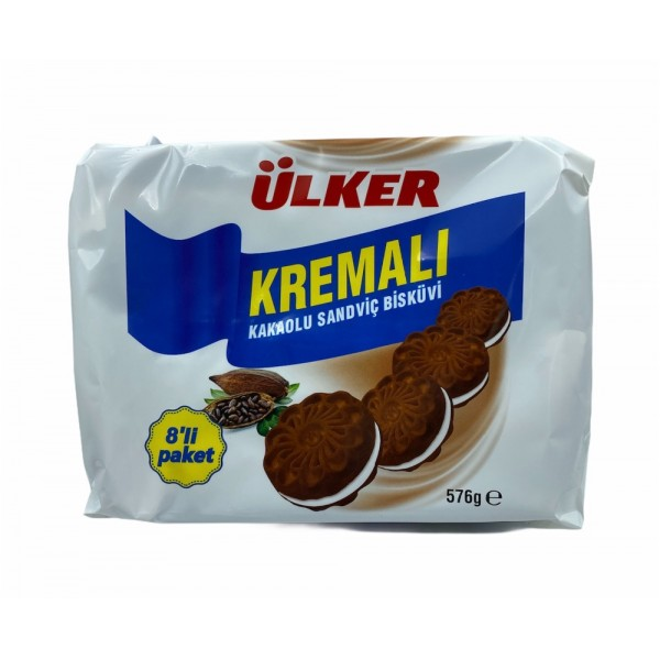Ulker Cocoa Cream Biscuit 576gr
