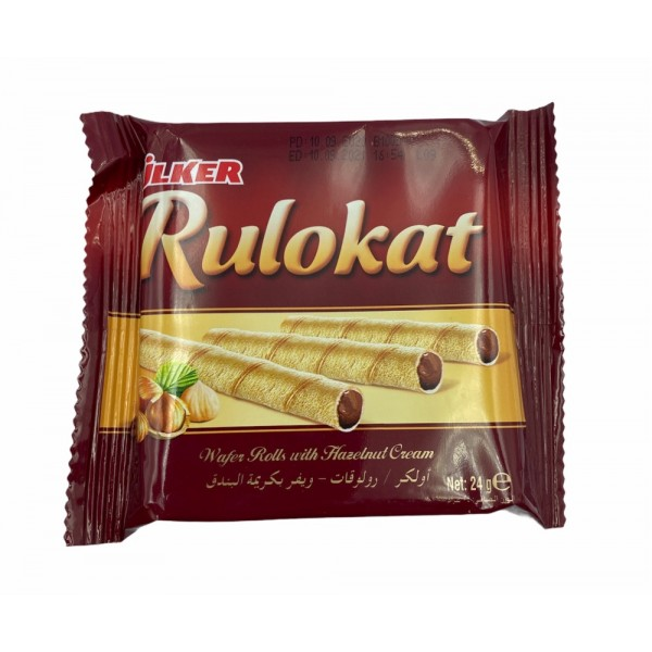 Ulker Rulo Kat Wafer Rolls With Hazelnut Cream