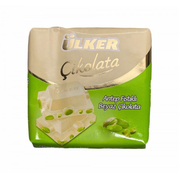 Ulker White Chocolate With Pistachio 65g