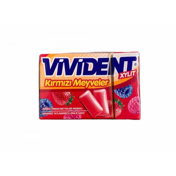 Vivident Red Fruits 22g