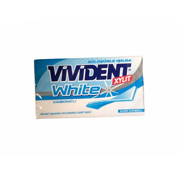 Vivident Xylit White With Carbonate 14pcs