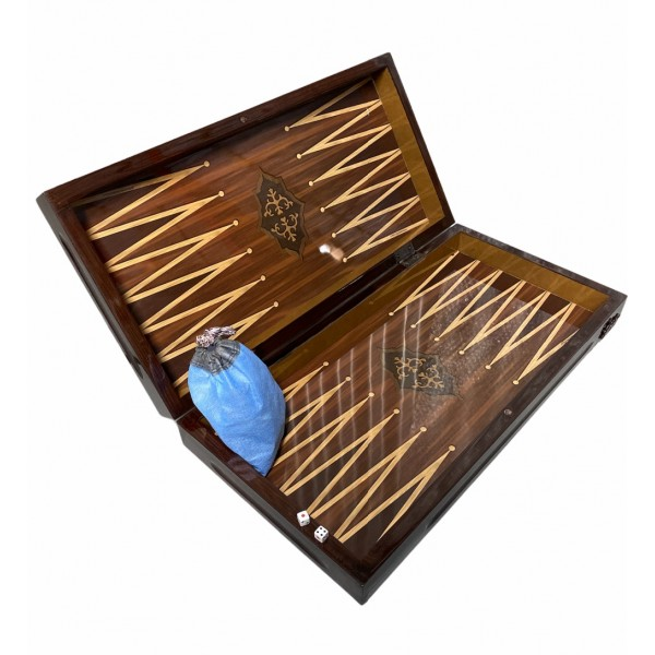 Wooden Classic Design Backgammon Set