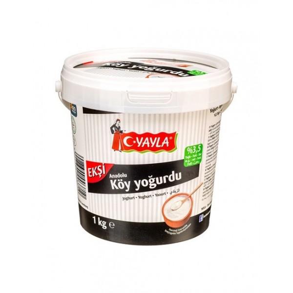 Yayla Village Yoghurt 3 Percent Fat 1kg