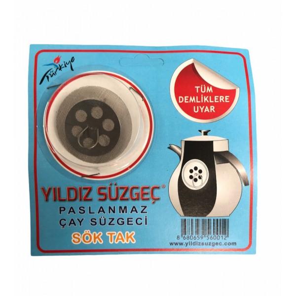 Yildiz Suzgec Stainless Tea Strainer