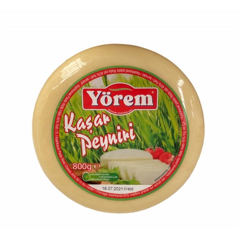 Yorem Kashkaval Pasta Filata Cheese 800g