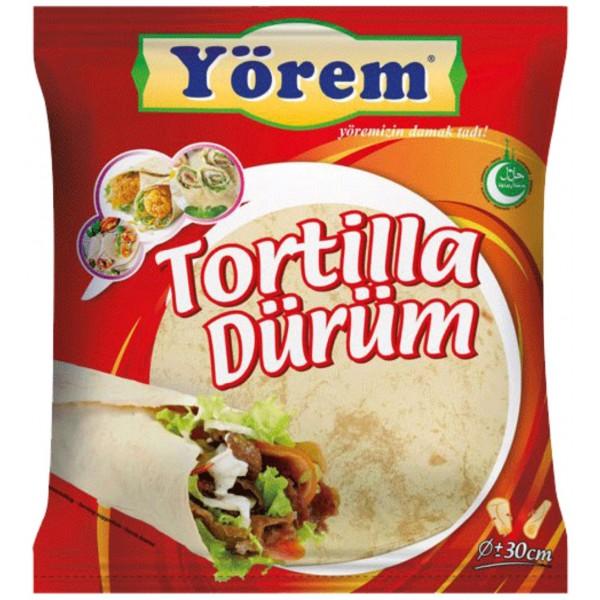 Yorem Tortilla Wrap Bread 12x30cm