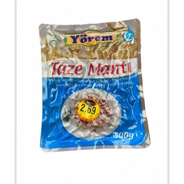 Yorem Turkish Style Tortelini Manti 500g