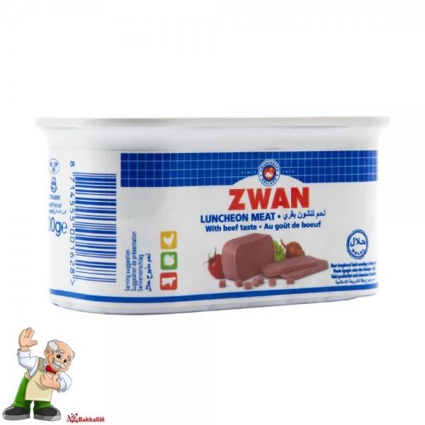 Zwan Luncheon Meat With Beef Taste 200g