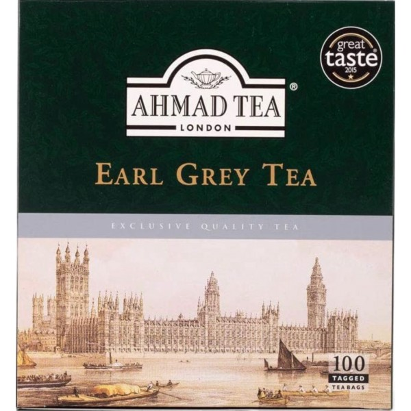 Ahmad Tea Earl Grey Tea 100pcs